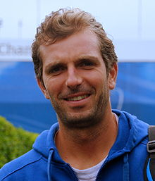 Julien Benneteau - the cool, hot,  tennis player  with French roots in 2019