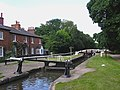 Junction Lock No 17, Trent and Mersey Canal at Fradley - geograph.org.uk - 997662.jpg