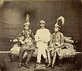 Jung Bahadur with sons Jagat Jung and Jeet Jung.jpg