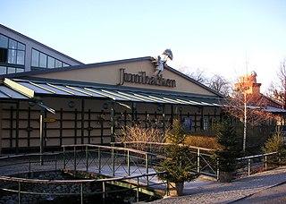 Junibacken museum in Stockholm, Sweden
