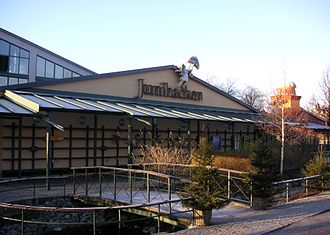 Junibacken - Entrance to the Junibacken children's attraction, Stockholm