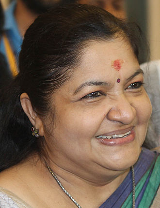 K. S. Chithra - Image: K.S.Chithra Jan 2015 07