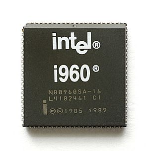 Intel i960 - Intel N80960SA (PLCC Package)