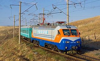 Kazakhstan Temir Zholy - Image: KTZ KZ4A Chokpar