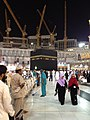 Kaaba during expansion in 2013.jpg