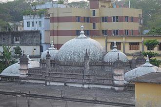 Chittagong - The medieval Kadam Mubarak Mosque