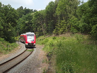 German rail service