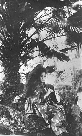 Kaʻiulani - Kaʻiulani in Kimono(1898)