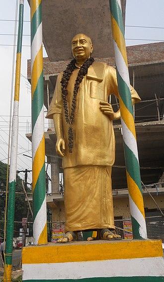 K. Kamaraj - Kamaraj statue at East Tambaram, Chennai