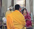 Kanch mandir- the Idol of Shri Ramkrishna and Sarada Maa.jpg