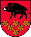 Coat of arms of Kandava Municipality