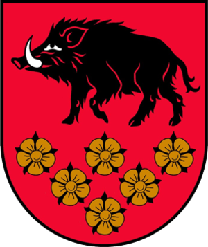 Kandava Municipality - Image: Kandavas novads COA