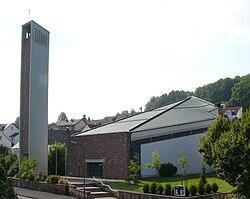 Kath. Pfarrkirche St. Laurentius, Neuhof - Giesel