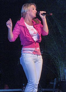 Kathleen Aerts Belgian singer, actress and host