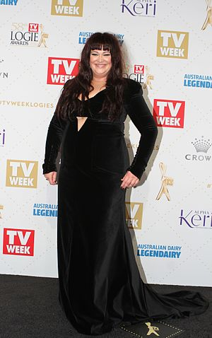 Katrina Milosevic - Image: Katrina Milosevic 2016 TV Week Logie Awards (26854791871)