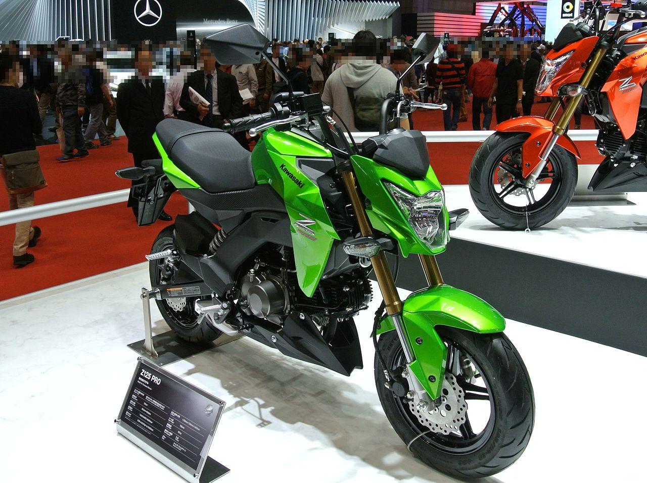 Kawasaki Grom  With Dirt Tires