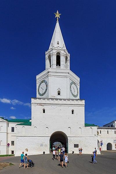 Спасская башня (Казанский кремль)