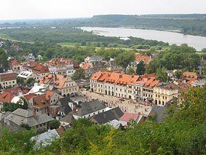 Modzitz (Hasidic dynasty) - The town of Kuzmir, known in Polish as Kazimierz Dolny