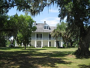 St. Bernard Parish, Louisiana - Kenilworth Plantation House (originally Bienvenu) in St. Bernard's Terre aux Boeufs dates back to the 1750s.