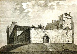 Clan Gordon - The ruins of Kenmure Castle, former seat of the Gordon Viscounts of Kenmure.