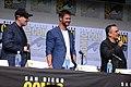 Kevin Feige, Chris Hemsworth & Joe Russo (36246470595).jpg