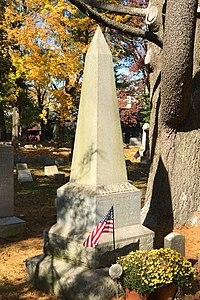 Kilmer family monument, Elmwood Cemetery, NJ.jpg