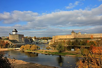 Narva - View of Narva in 2014
