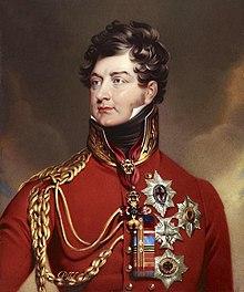 Georg IV. als Regent (Quelle: Wikimedia)