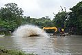 Kings Lake Dredging - Banyan Avenue - Indian Botanic Garden - Howrah 2013-10-27 3840.JPG