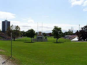 Richardson Memorial Stadium - Image: Kingston Richardson Memorial Stadium