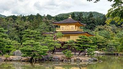 Kuil Kinkaku di Kyoto, Jepang