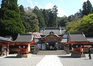 Shinto shrines in Kagoshima Prefecture, Japan