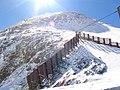 Kitzsteinhorn (3.203 m n.p.m) -widok ze schroniska na wysokości 3029 m n.p.m - panoramio.jpg