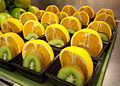 Kiwi-and-orange fruit cups for students in the National School Breakfast Program (Arlington, VA, USA - 19-10-2011).jpg