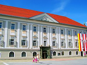 Klagenfurt - Klagenfurt City hall