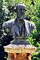 Klagenfurt Viktring Stein Friedhof Bueste des Max Ritter von Moro 09072009 10.jpg