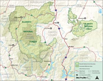 Klamath National Forest - Wikipedia