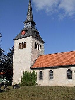 church in Klein Denkte, Germany
