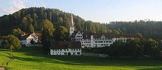 Degersheim - Magdenau Abbey and church