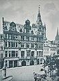 Koeln in Bildern, Tafel 14. Das Rathaus vom Altermarkt gesehen.jpg