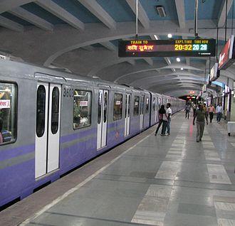 Transport in Kolkata - Kolkata Metro AC Train