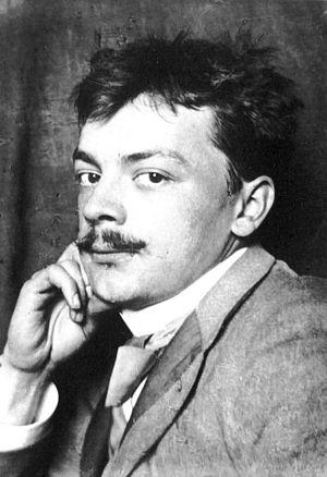 Koloman Moser - Photograph of Koloman Moser (1905)