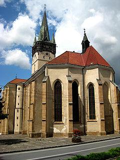 Co-Cathedral of St. Nicholas, Prešov Church in Prešov, Slovakia