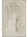 Kopie nach Jan van Eyck -Madonna mit Stifter, um 1450.png