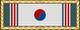 Citazione presidenziale dell'unità (Corea del Sud) - nastrino per uniforme ordinaria