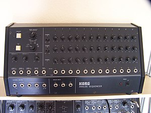 Music sequencer - Image: Korg SQ 10