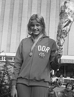 Kornelia Ender East German swimmer