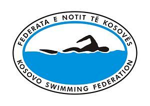 Kosovo Swimming Federation - Image: Kosovo Swimming Federation (Federata e Notit të Kosovës) logo