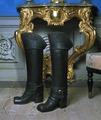 Kragstövlar som tillhört Erik Brahe, 1740-1756 cirka - Skoklosters slott - 5177.tif