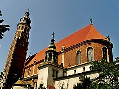 Kraków - kościół klasztorny jezuitów p.w. Najświętszego Serca Pana Jezusa.....jpg